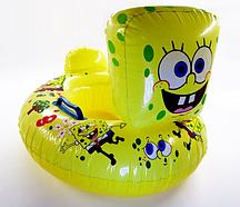 """Детский надувной круг SY-A-1204 BABY BOAT """"Спанч Боб"""""""