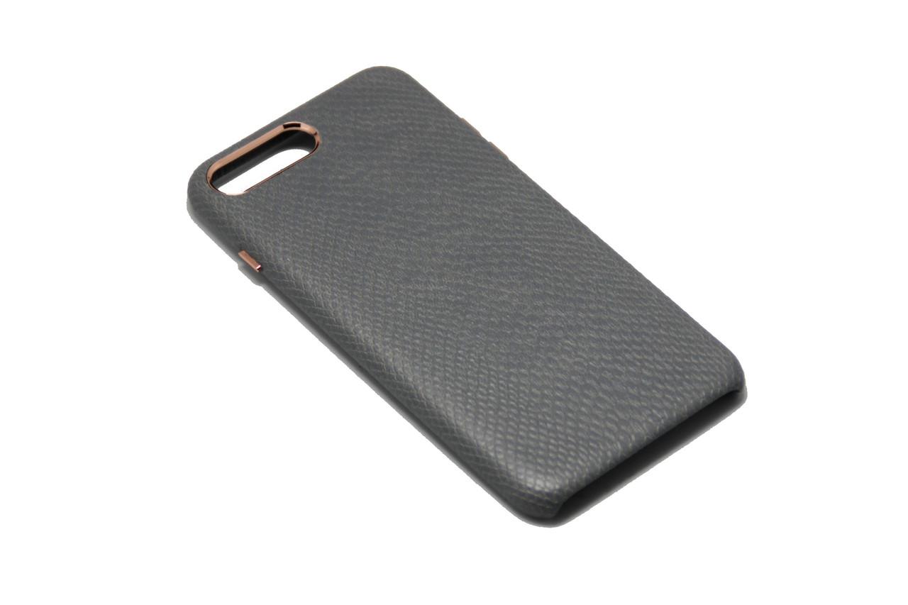 Чехол OCCA Lizard Grey кожаный iPhone 7