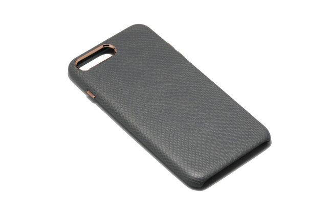 Чехол OCCA Lizard Grey кожаный iPhone 7, фото 2