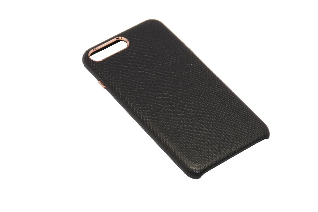 Чехол OCCA Lizard Black кожаный iPhone 7