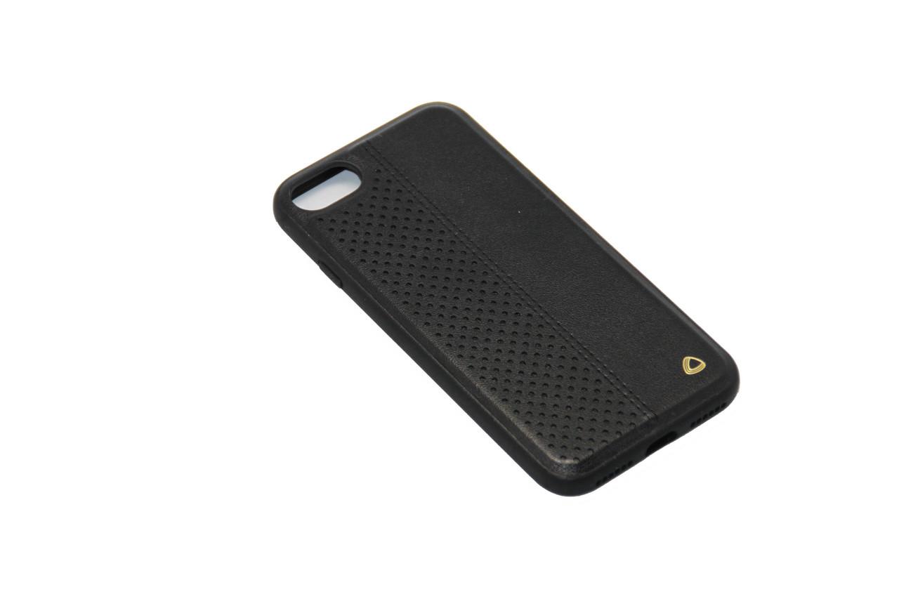 Чехол OCCA Air Black кожаный iPhone 7