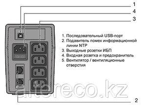 Источник бесперебойного питания (ИБП - UPPS) Socomec NETYS PE 800, фото 2