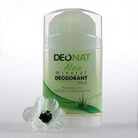 Дезодорант натуральный Тайланд Кристалл - Деонат с соком Алое зеленый, Twistup 100гр