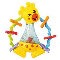 """Play Go Развивающая игрушка """"Жираф-погремушка"""""""