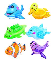 Splash and Play Животные надувные, в ассортименте