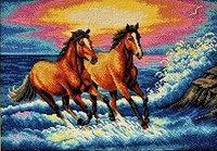 """Набор для вышивания бисером """"Брызги моря"""""""