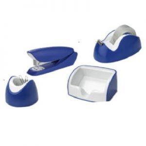Канцелярский набор, 4 предмета, синий