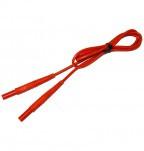 Провод измерительный 1,2 м с разъемом банан красный - для MRP-200, MRU-10X, MPI-508/511