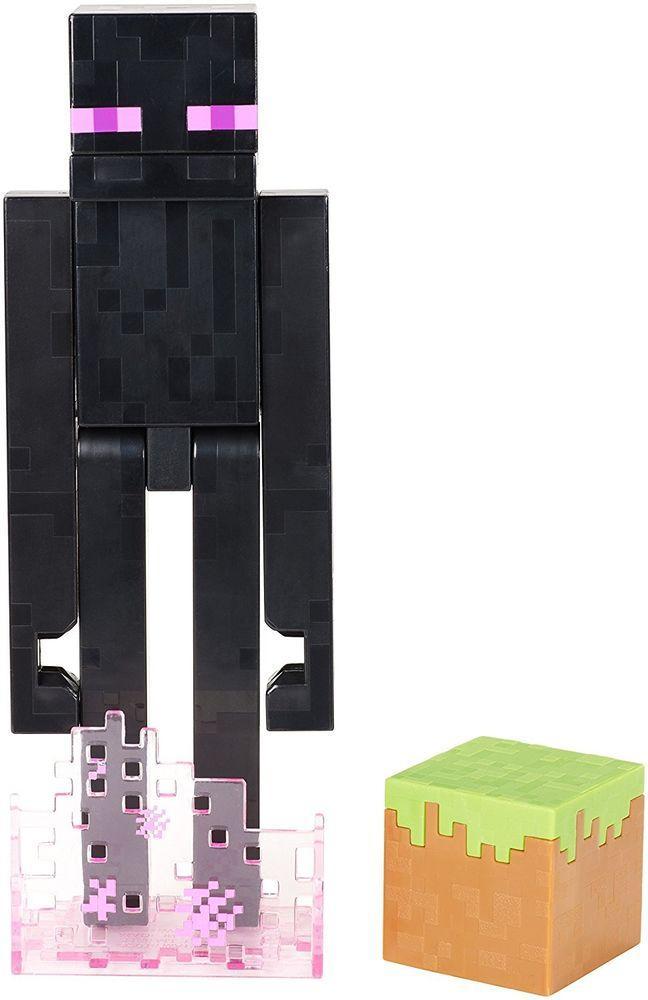 Minecraft Атакующий Эндермен (17 см)