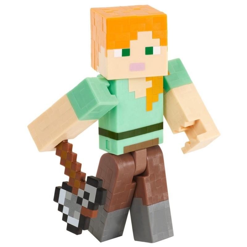 Minecraft Алекс с топором (15 см)