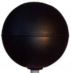 Черный шар - устройство для измерения тепловой нагрузки среды (ТНС-индекса)