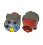 AGT-16P - соединитель электрический-адаптер для серий MPI, MRP, MIC, MZC, TKF