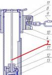 Игла - для аппарата контроля деревянных опор АКОД-М