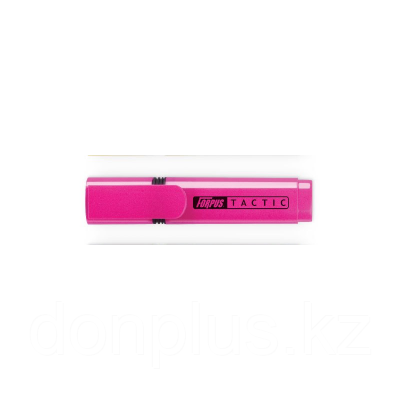 Маркер текстовой TACTIC скош. 2-5мм, розовый