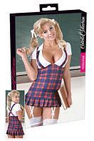 Фиолетовое платье школьницы (Размер M) - Cotelli Collection (пр. Германия)