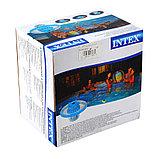 Светодиодный LED плавающий светильник для подсветки бассейнов Intex , фото 6