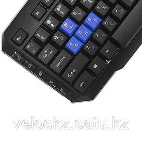 Клавиатура проводная Crown CMK-314 USB мультимедийная, фото 2
