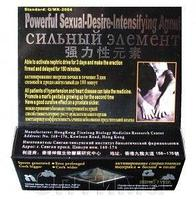 Сильный элемент - безопасное средство усиливает эрекцию, препятствует преждевременному семяизвержению