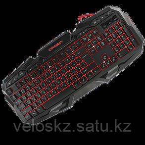 Клавиатура игровая Crown CMKG-100, с подсветкой, фото 2