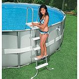 Лестница для бассейнов 132см Intex, фото 4