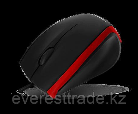Мышь проводная Crown CMM-009 Black/Red, USB, 1000DPI, фото 2