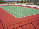 Наливное покрытие Hard для тенниса, фото 3