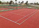 Наливное покрытие Hard для тенниса, фото 5
