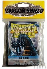 """Протекторы Мини """"Dragon Shield"""" (разноцветные, 50 шт.): черные"""