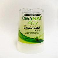 Дезодорант Кристалл - ДеоНат с соком Алое зеленый, стик 40гр