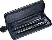 Ручка шариковая металлическая в футляре,чёрная