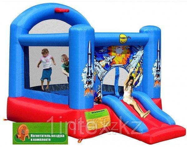 Детский надувной батут с горкой Happy Hop 365см x 265см x 215см