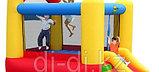 Батут с горкой «Высокий прыжок» HAPPY HOP, фото 2