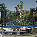 БАТУТ с лестницей  диаметр 366 см. с сеткой высотой 1,5 метра, фото 4