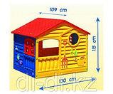 """Детский пластиковый домик """"Игровой"""" Marian Plast, фото 4"""