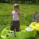 """Песочница бассейн """"Собачка"""" с крышкой, фото 4"""