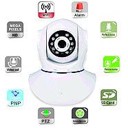 Беспроводная поворотная Wi-Fi IP камера, HD разрешение 1.3 MP, фото 5