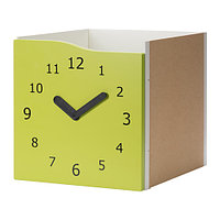 Вставка с дверцей КАЛЛАКС светло-зеленый декоративные часы ИКЕА, IKEA