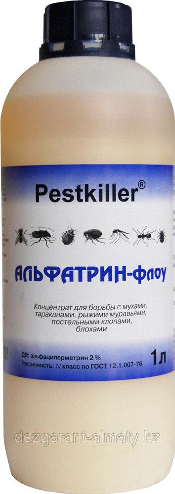 Альфатрин-Флоу (канистра 1 л). Средство от тараканов, блох, клопов