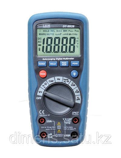 DT-9928T - цифровой мультиметр