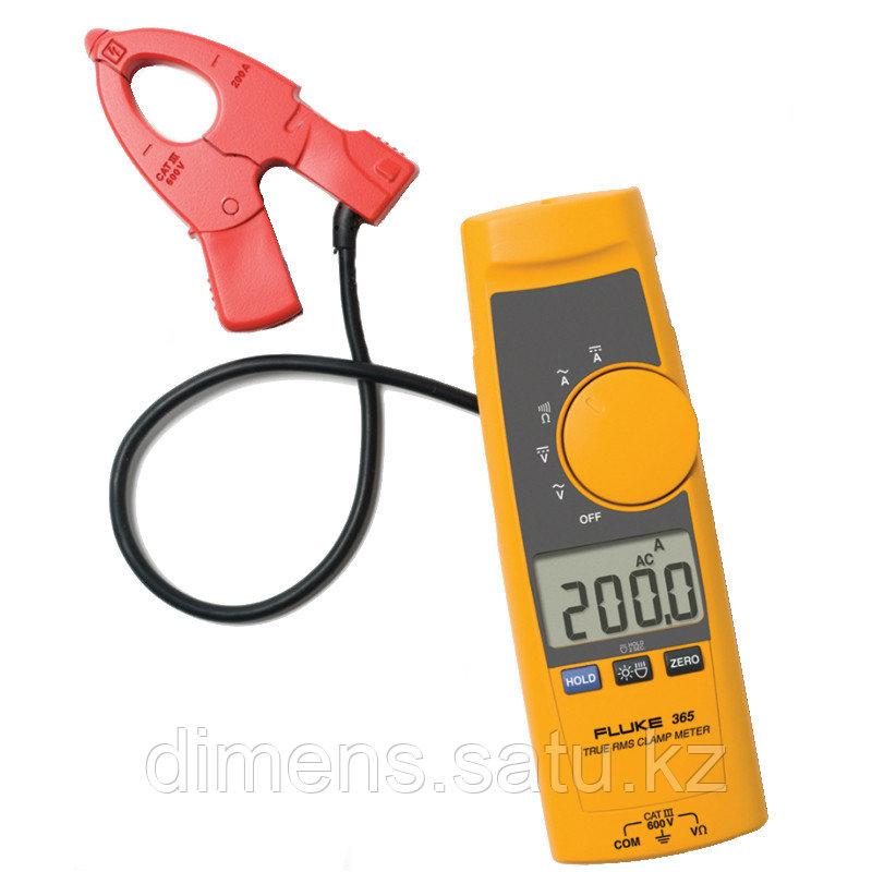 Fluke 365 - токоизмерительные клещи с измерением истинного среднеквадратичного значения переменного тока