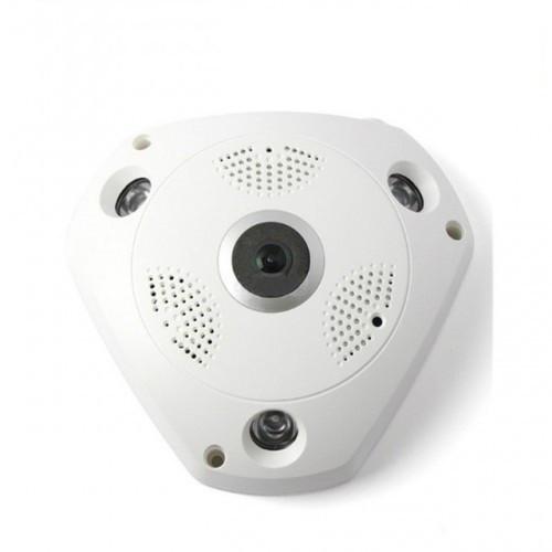Панорамная Wi-Fi IP камера 360° (рыбий глаз), 1.3 mpx