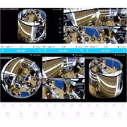 Панорамная Wi-Fi IP камера 360° (рыбий глаз), 1.3 mpx, фото 7