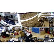 Панорамная Wi-Fi IP камера 360° (рыбий глаз), 1.3 mpx, фото 9