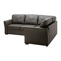 Диван-кровать Угл c модулем д хран ГЕССБЕРГ правый ИКЕА, IKEA, фото 1