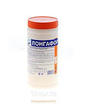 Лонгафор медленно-растворимые таблетки хлора по 200гр. (1кг, ведро)