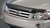 Мухобойка (дефлектор капота) наToyota Highlander/Тойота Хайлендер 2001-2007, фото 1