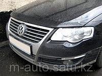 Мухобойка (дефлектор капота) на Volkswagen Passat/Фольксваген Пассат B6