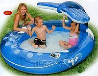 Детский надувной бассейн Intex  – «Весёлый кит», фото 1