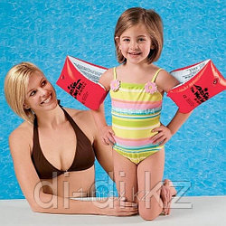 Надувные нарукавники Deluxe Большие, 30 х 15 см, от 6 до 12 лет