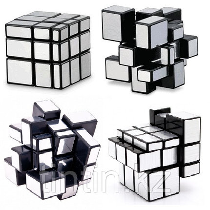 Кубик Зеркальный 3х3 MoFangGe, Mirror Silver, фото 2